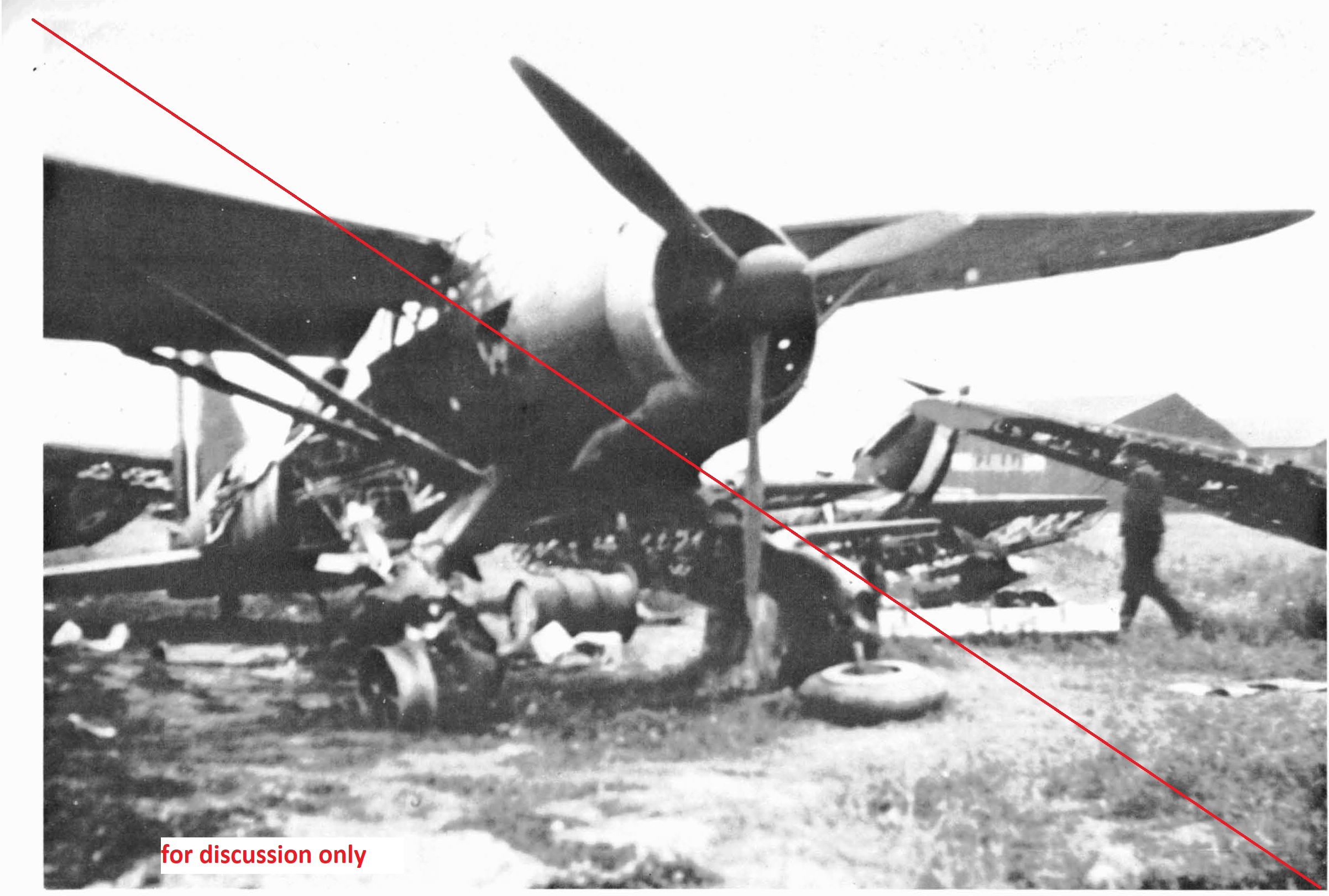 wreck of Lysander - copy from book Lysander special for posting.jpg